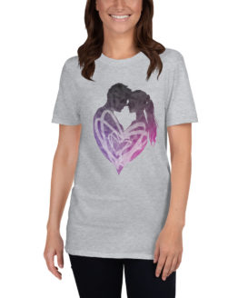 Beautiful love gravy t-shirt with a man and a woman | Flirtytshirts.store