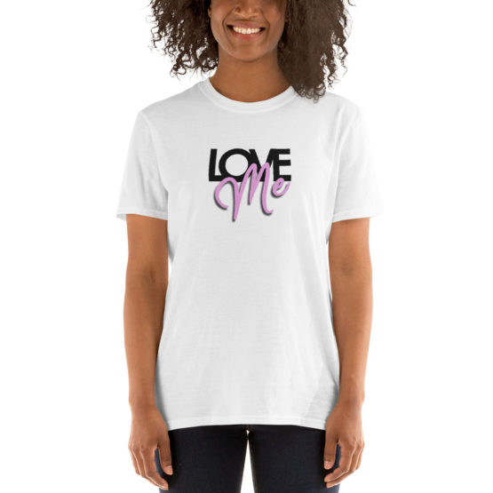 Love me. Cool fashion white t-shirt | Flirtytshirts.store