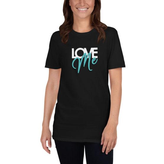 Love me. Cool fashion black t-shirt | Flirtytshirts.store
